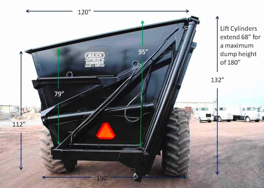 Dump Cart details side
